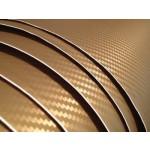 gold carbon fiber vinyl