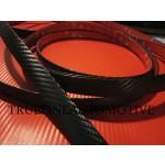 Universal Black Carbon Fiber Vinyl Trim Molding