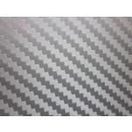 silver carbon fiber wrap