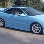 1994-2001 Acura Integra Hatchback Window Tinting Kit